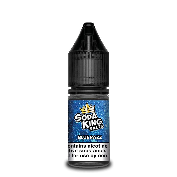 Blue Razz Nicotine Salt by Soda King