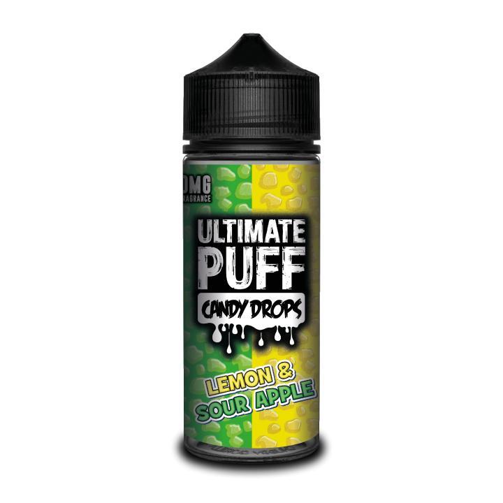 Candy Drops Lemon & Sour Apple Shortfill by Ultimate Puff