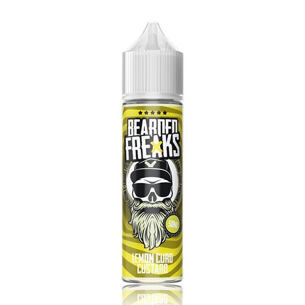 Lemon Curd Custard Shortfill by Bearded Freaks