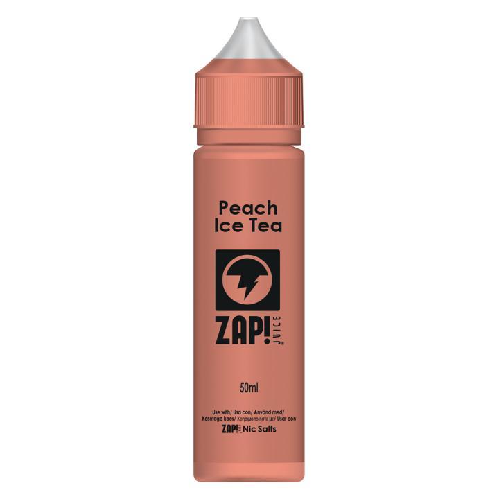 Peach Ice Tea Shortfill by Zap!