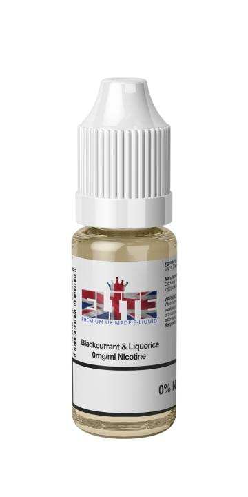 Blackcurrant & Liquorice Regular 10ml by Elite Liquid