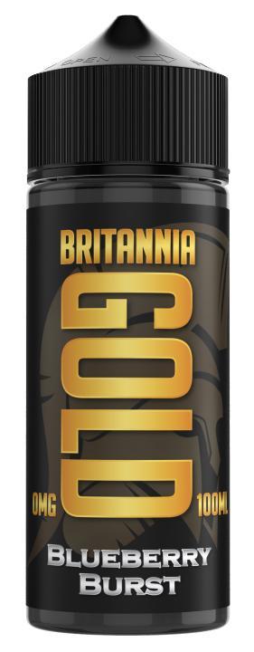 Blueberry Burst Shortfill by Britannia Gold
