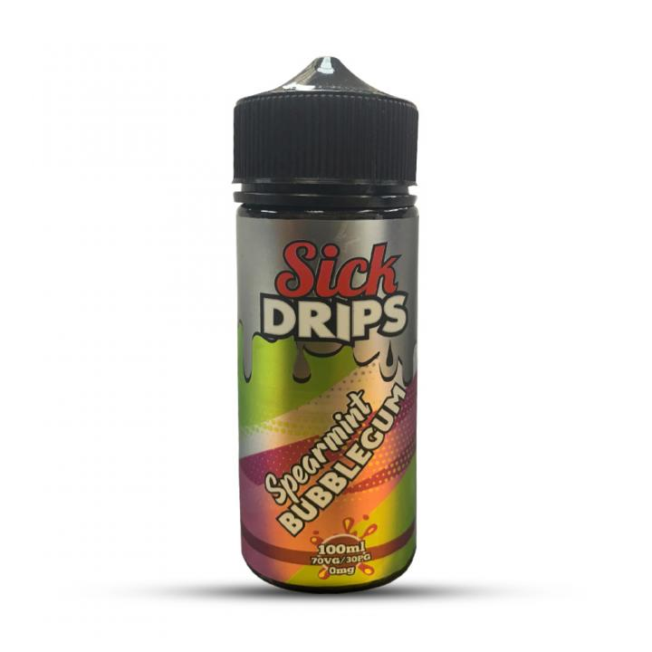 Spearmint Bubblegum Shortfill by Sick Drips