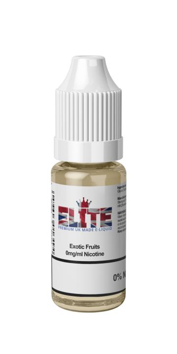 Exotic Fruits Regular 10ml by Elite Liquid