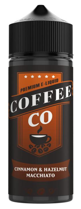 Cinnamon & Hazelnut Macchiato Shortfill by Coffee Co