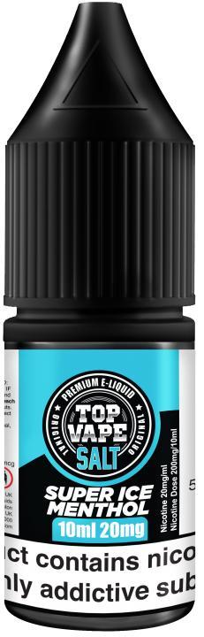 Super Ice Menthol Nicotine Salt by Top Vape