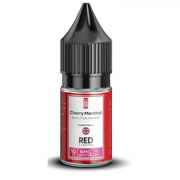 Cherry Menthol Regular 10ml by RED Liquids