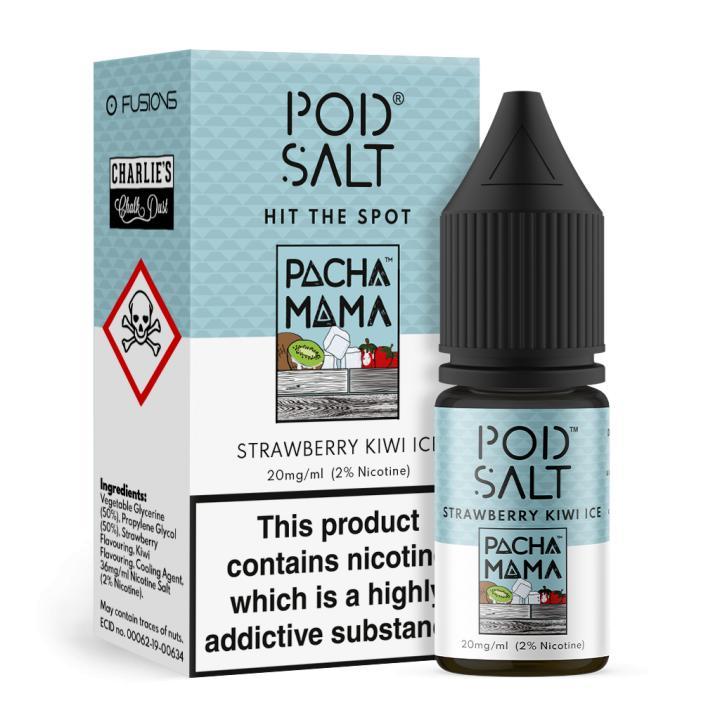 Strawberry Kiwi Ice Nicotine Salt by Pod Salt