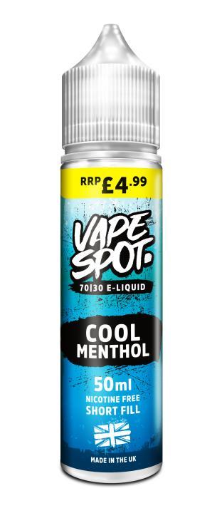 Cool Menthol Shortfill by Vape Spot