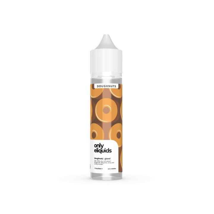 Glazed Doughnut Shortfill by Only E Liquids