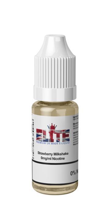 Strawberry Milkshake Regular 10ml by Elite Liquid