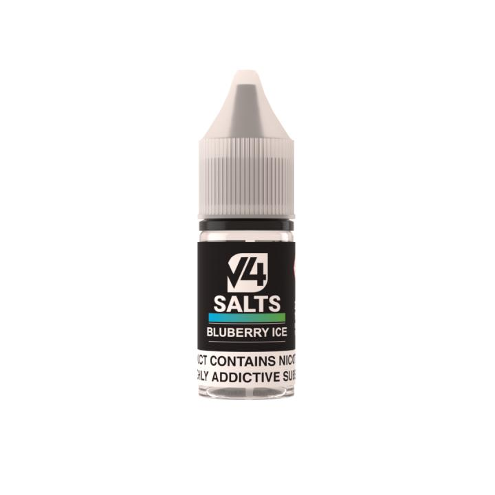 Blueberry Ice Nicotine Salt by V4POUR