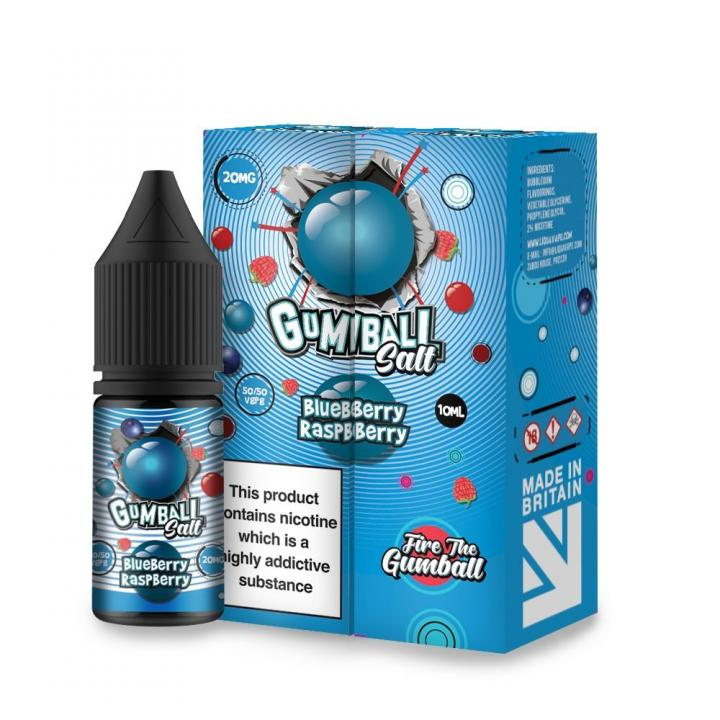 Blue Raspberry Gumball Nicotine Salt by Gumball by Slushie