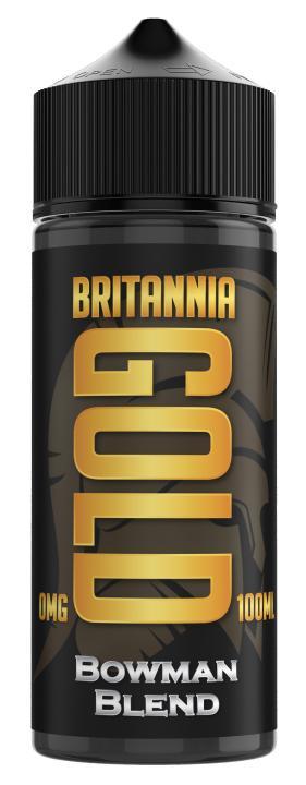 Bowman Blend Shortfill by Britannia Gold