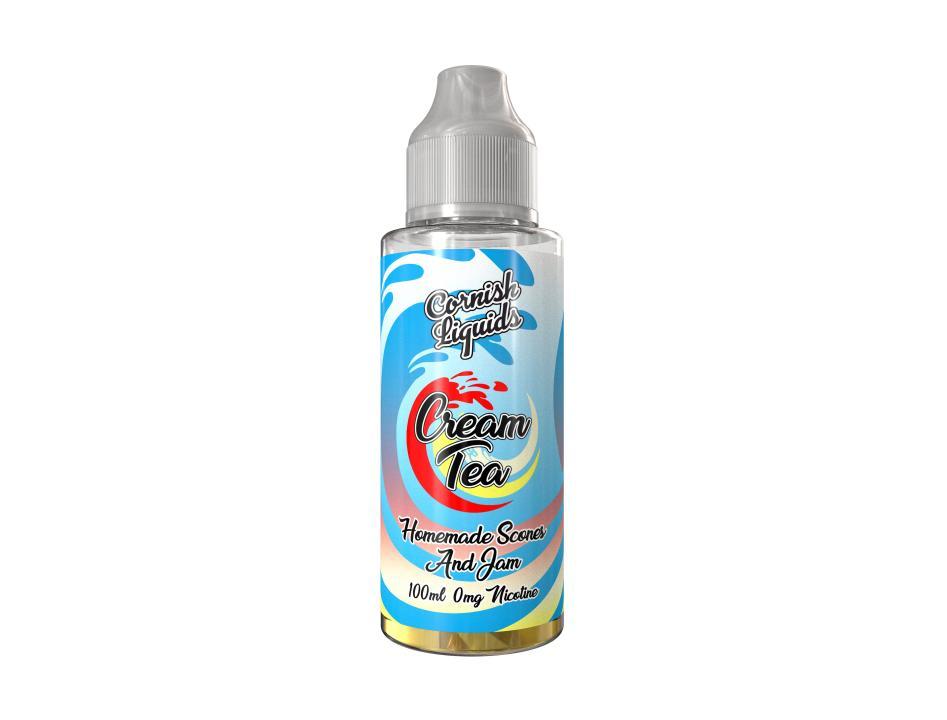 Cream Tea Shortfill by Cornish Liquids