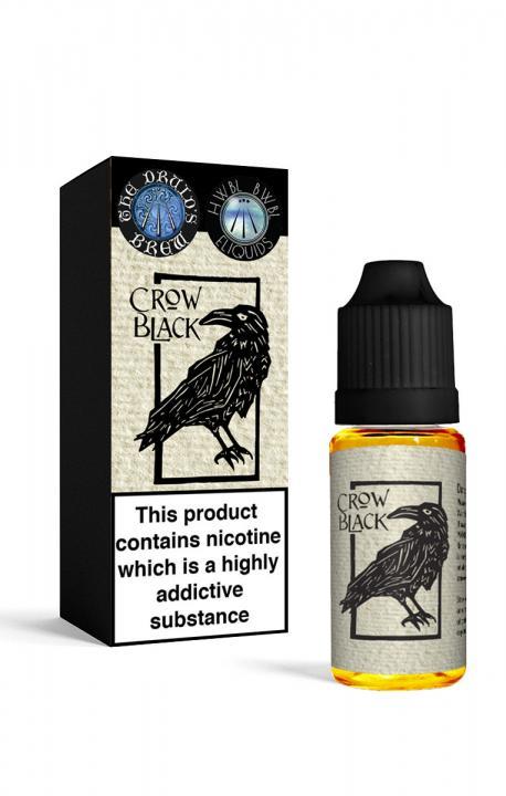 Crow Black Regular 10ml by The Druids Brew Ltd