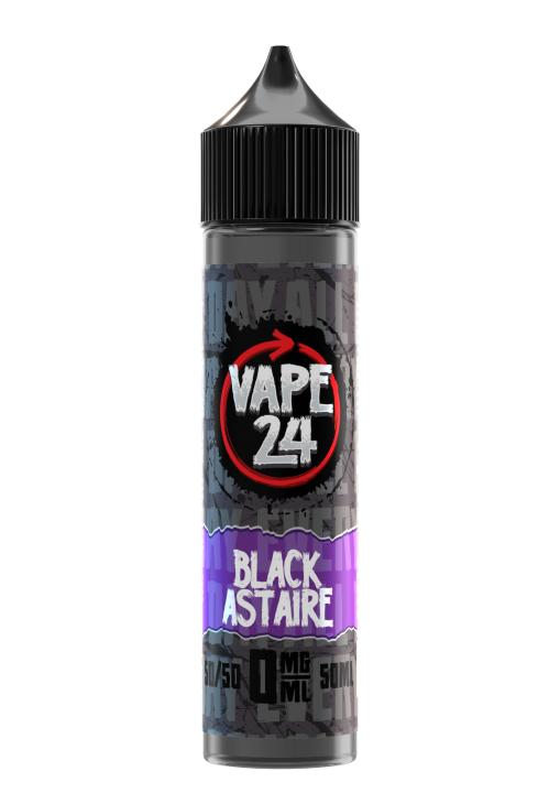 Black Astaire Shortfill by Vape 24