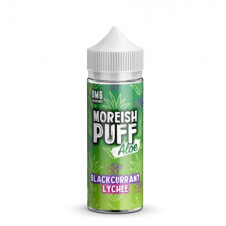 Blackcurrant Lychee Aloe Shortfill by Moreish Puff