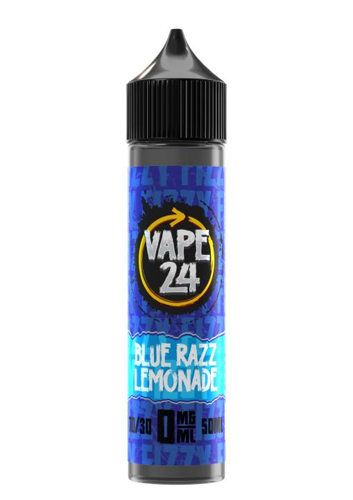 Fizzy Blue Razz Lemonade Shortfill by Vape 24