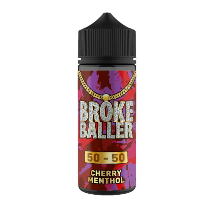 Cherry Menthol Shortfill by Broke Baller