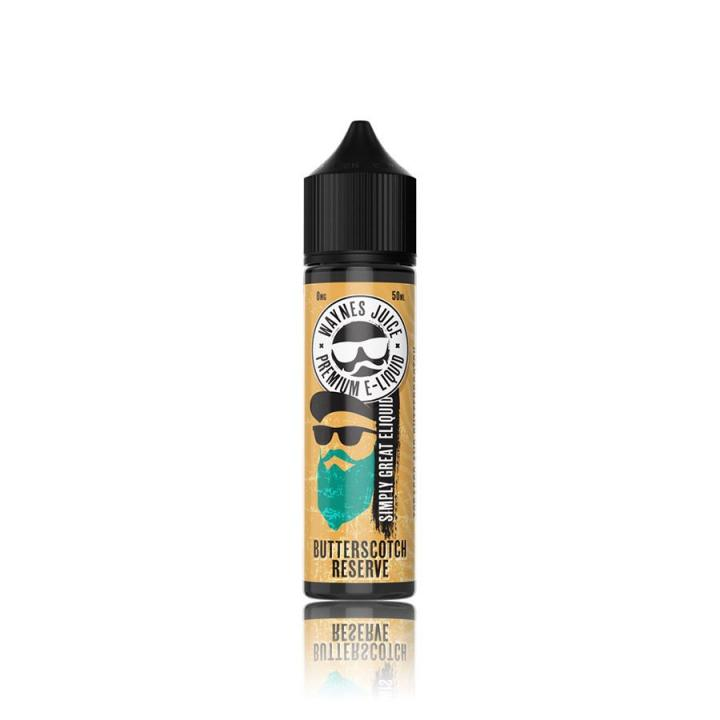 Butterscotch Reserve Shortfill by Waynes Juice