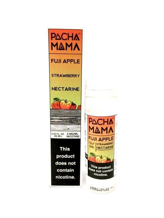 Fuji Apple, Strawberry & Nectarin Shortfill by Pacha Mama
