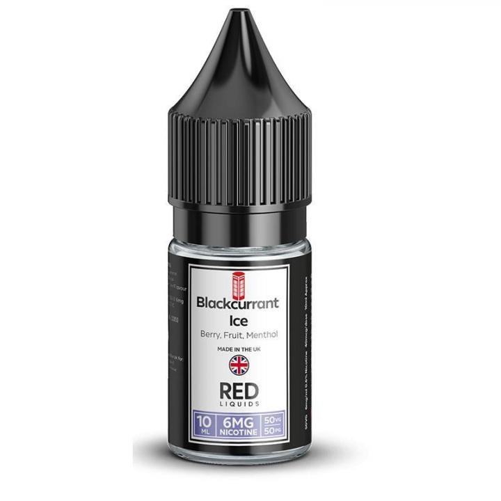 Blackcurrant Ice Regular 10ml by RED Liquids