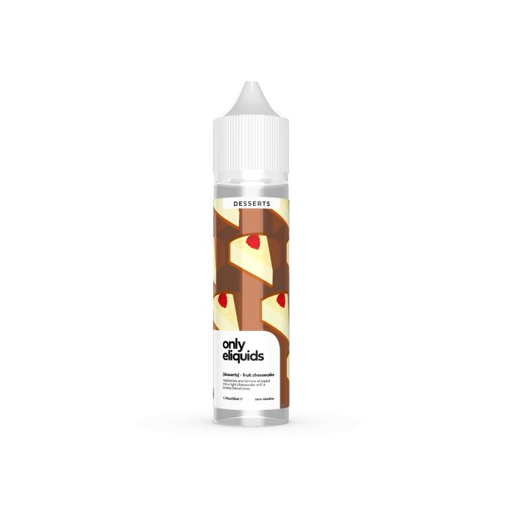 Fruit Cheesecake Shortfill by Only E Liquids