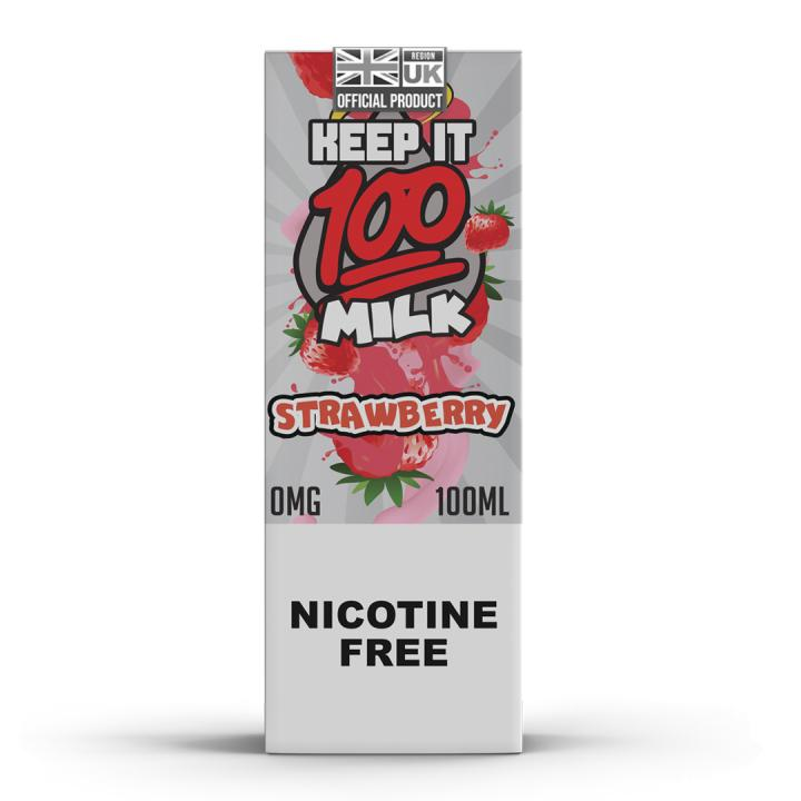 Strawberry Milk Shortfill by Keep It 100