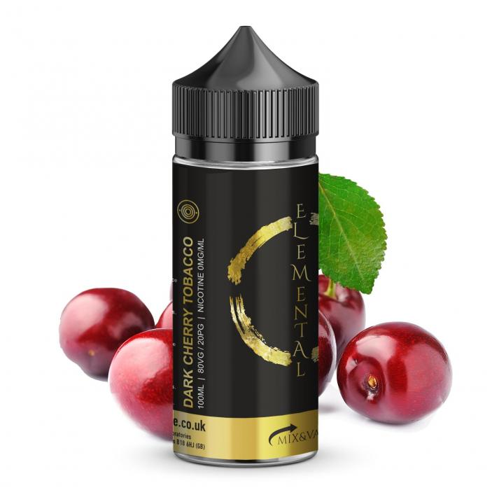 Dark Cherry Tobacco Shortfill by Elemental Vape