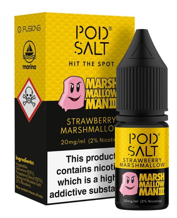 Stawberry Marshmallow Nicotine Salt by Pod Salt