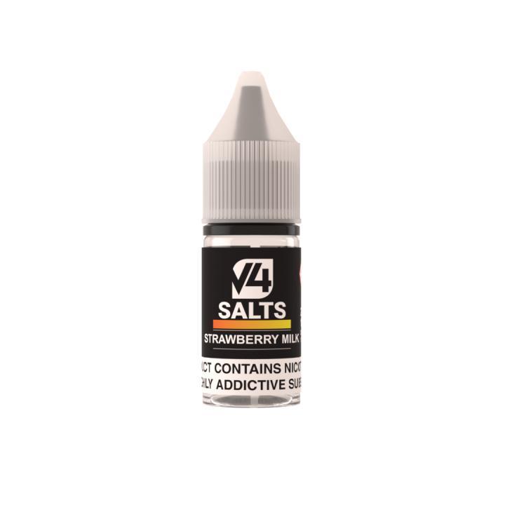 Strawberry Milk Nicotine Salt by V4POUR