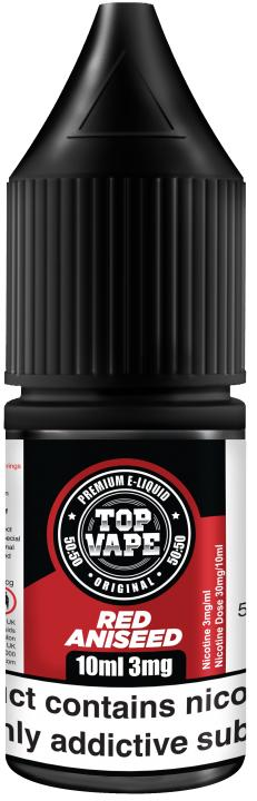 Red Aniseed Regular 10ml by Top Vape