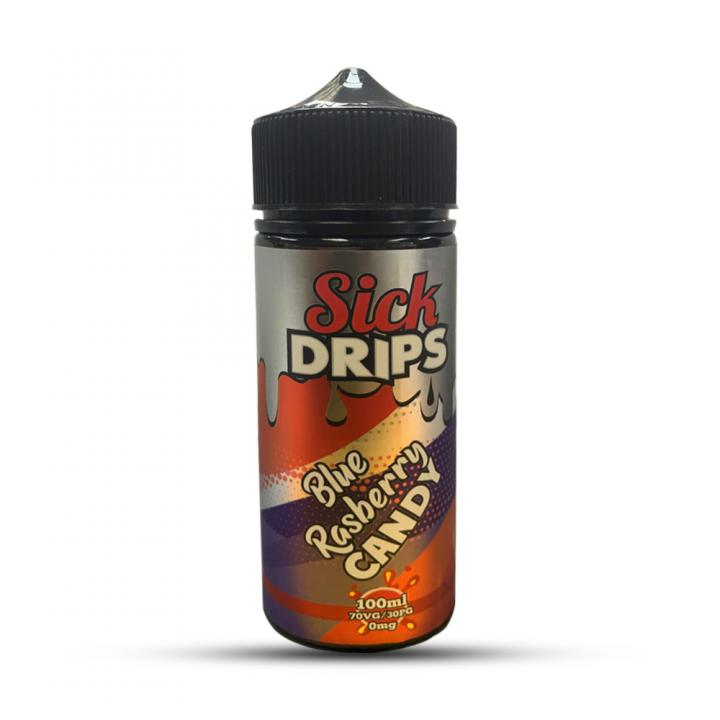Blue Raspberry Candy Shortfill by Sick Drips