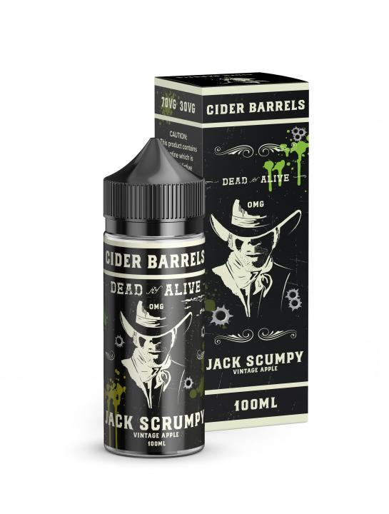Jack Scumpy Shortfill by Cider Barrels