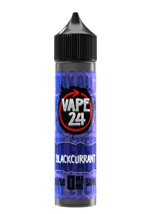 Blackcurrant Shortfill by Vape 24