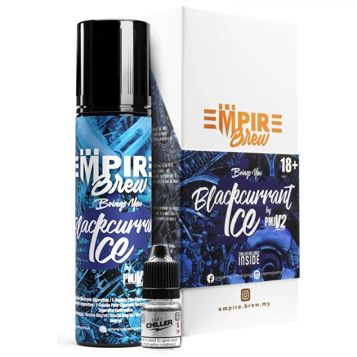 Blackcurrant Ice Shortfill by Empire Brew