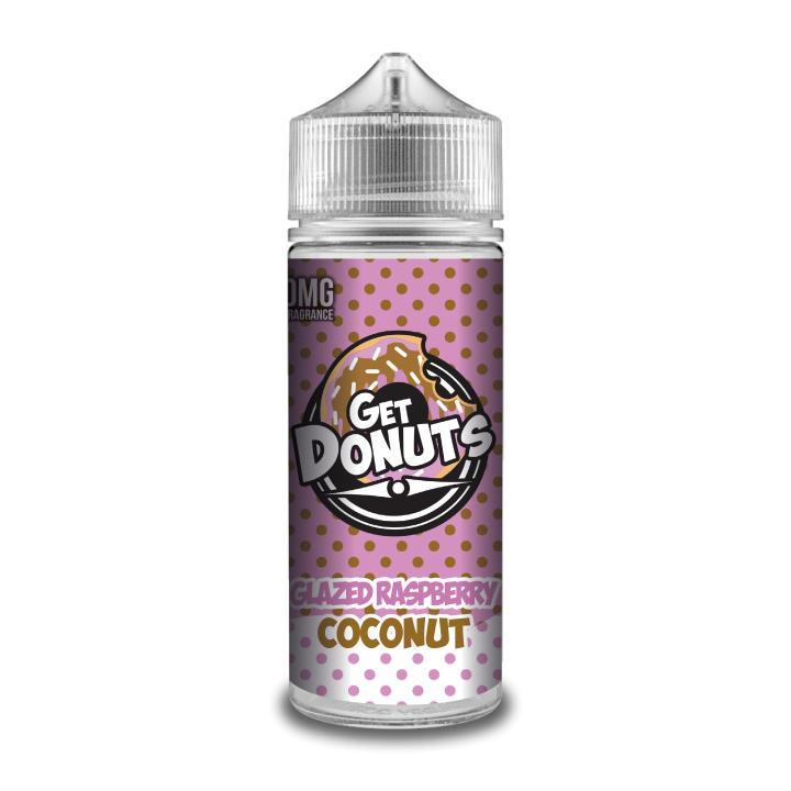 Donuts Glazed Raspberry Coconut Shortfill by Get E Liquid