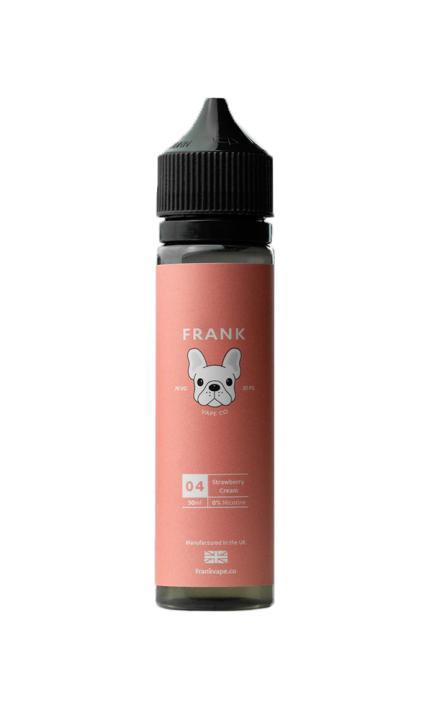 Strawberry Cream Shortfill by Frank Vape Co