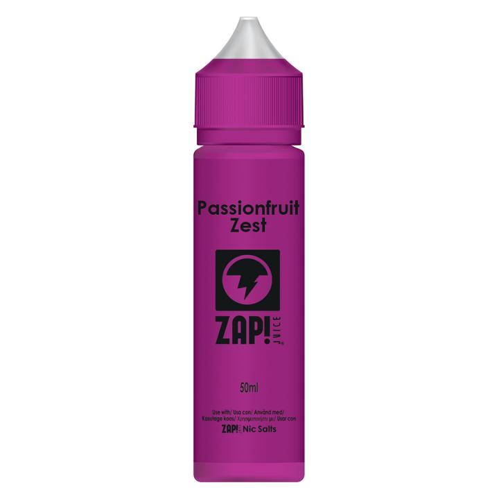 Passionfruit Zest Shortfill by Zap!
