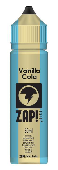 Vanilla Cola Shortfill by Zap!