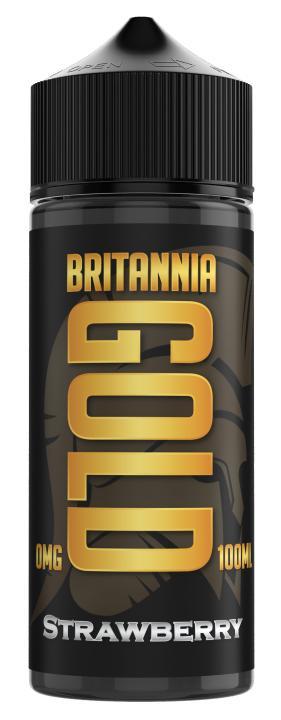 Strawberry Shortfill by Britannia Gold