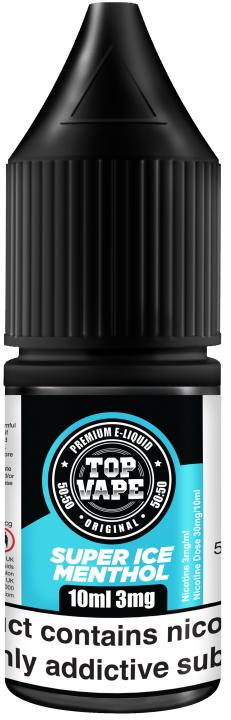 Super Ice Menthol Regular 10ml by Top Vape