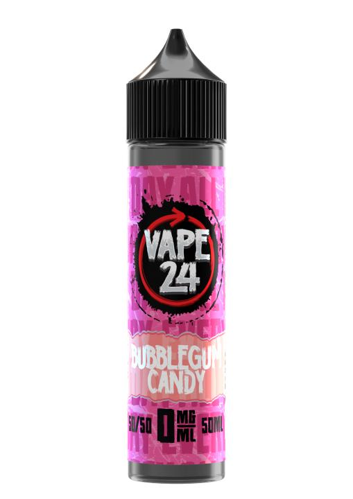 Bubblegum Candy Shortfill by Vape 24
