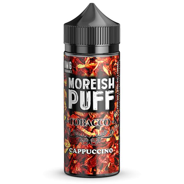 Capuccino Tobacco Shortfill by Moreish Puff