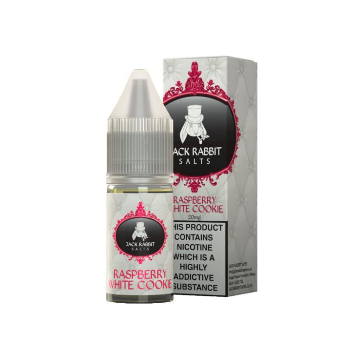 Raspberry White Cookie Nicotine Salt by Jack Rabbit Vapes