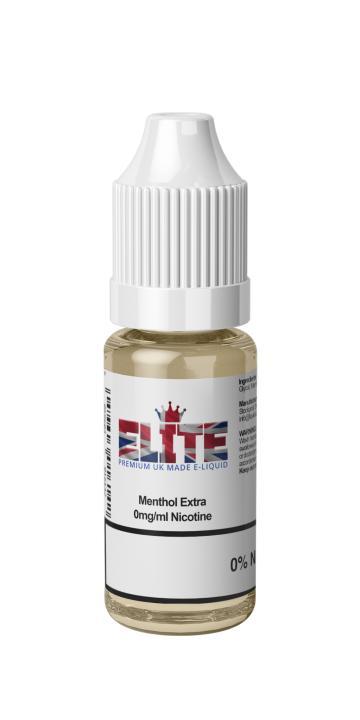 Menthol Extra Regular 10ml by Elite Liquid