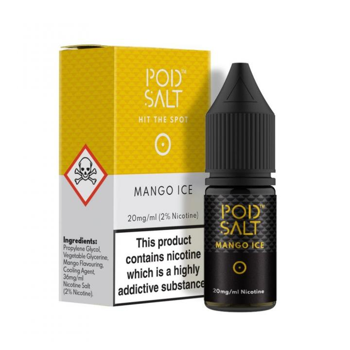 Mango Ice Nicotine Salt by Pod Salt