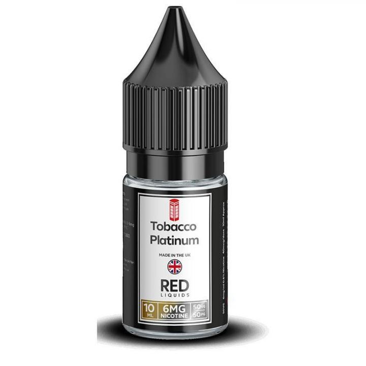 Tobacco Platinum Regular 10ml by RED Liquids