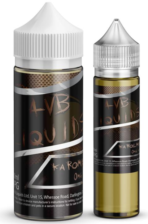 Karomel Latte Shortfill by AVB Liquids